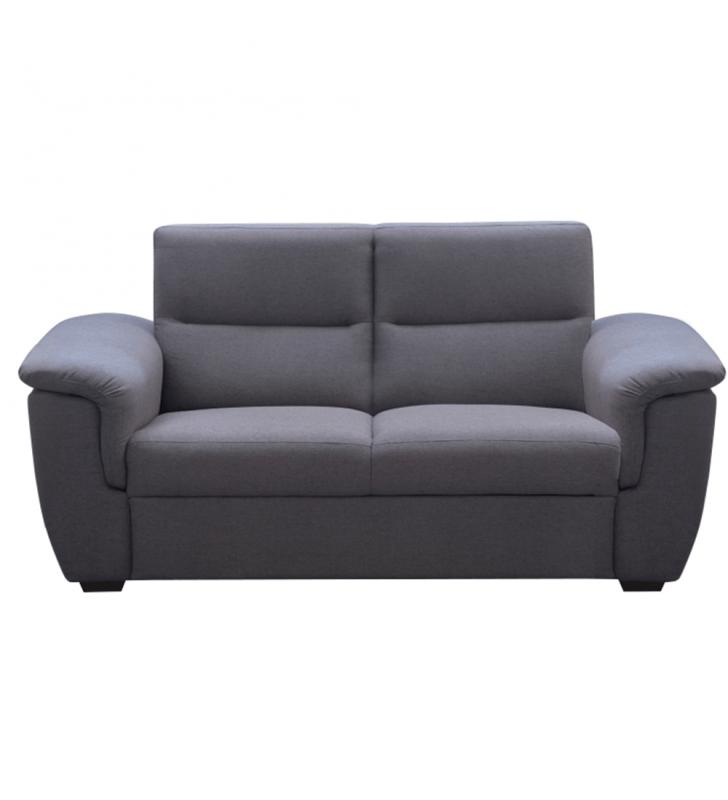 3-személyes kanapé, szürke szövet, csak rendelésre, BORN