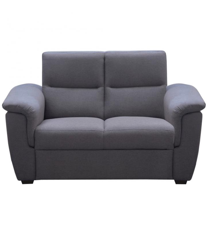 2-személyes kanapé, szürke szövet, csak rendelésre, BORN