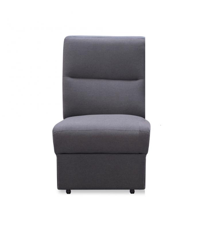 1-személyes kanapé, szürke szövet, csak rendelésre, BORN 1 BB