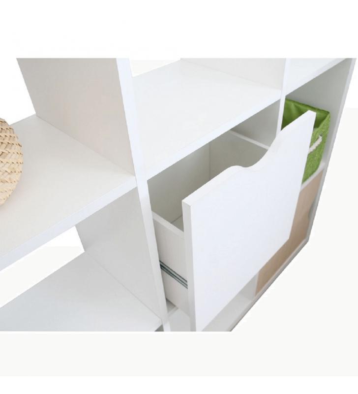 Tároló doboz, fehér, TOFI  NEW