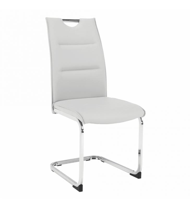 Étkező szék, világosszürke, TOSENA