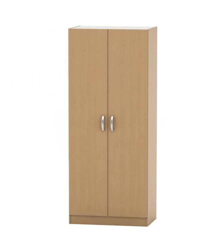 2 ajtós szekrény akasztórúd + polcok, bükk, BETTY 2  BE02-003-00
