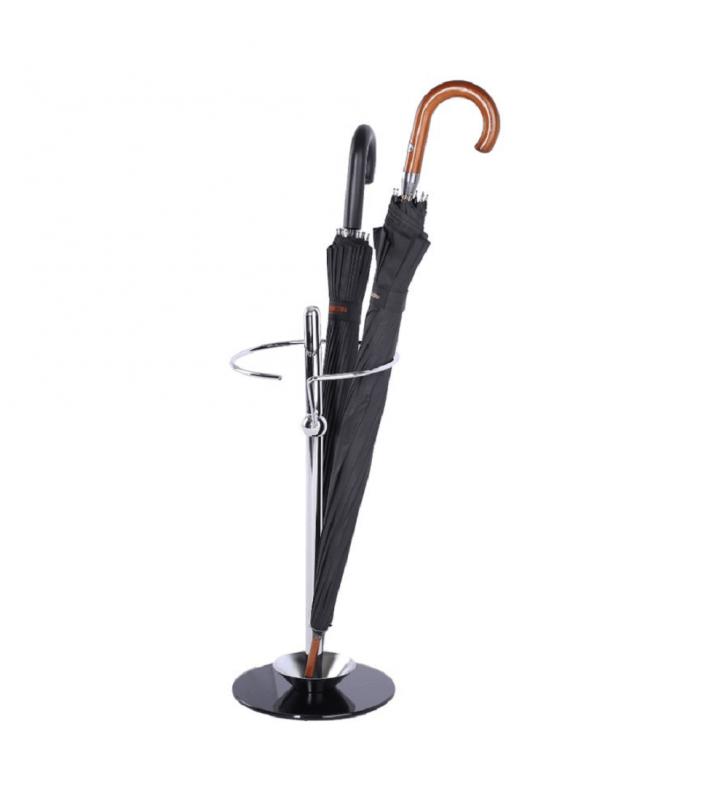 Esernyőtartó, fém/ üveg, OLDO